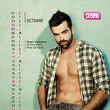 Sergio Lumbreras es octubre en el Calendario de Hombres 2015