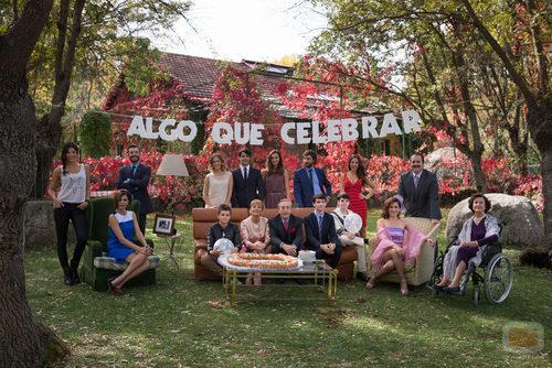 La familia Navarro en 'Algo que celebrar'