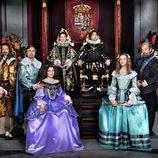 Los actores que dan vida a la realeza de 'Alatriste'