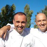 Los chefs Rodrigo de la Calle e Íñigo Urrechu