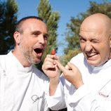 Los chefs de 'Abran fuego' de Telemadrid