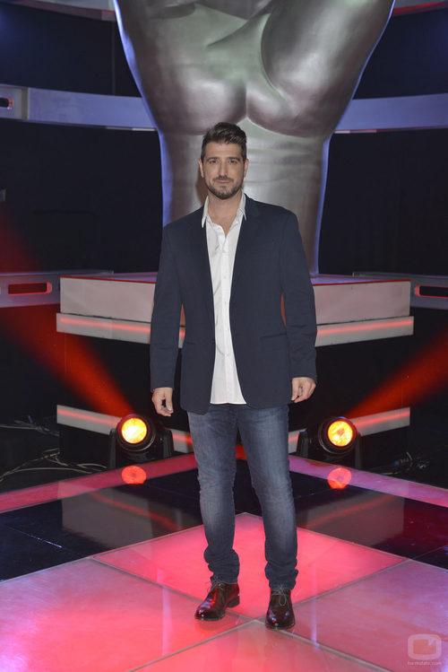 Antonio Orozco en el plató de 'La Voz'
