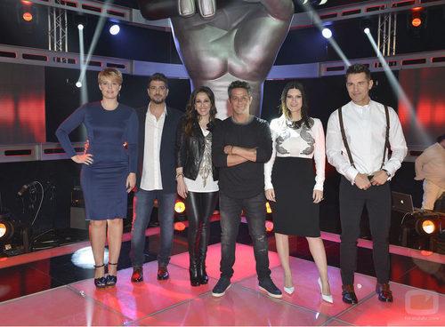 El equipo de la tercera temporada de 'La Voz'