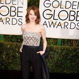 Emma Stone en los Globos de Oro 2015