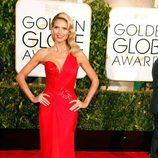 Heidi Klum en los Globos de Oro 2015