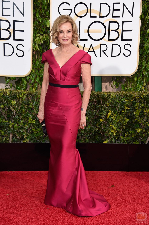 Jessica Lange en los Globos de Oro 2015