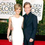 William H. Macy y Felicity Huffman en los Globos de Oro 2015