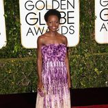 Lupita Nyong'o en los Globos de Oro 2015