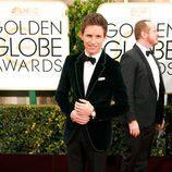 Eddie Redmayne en los Globos de Oro 2015