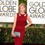 Christine Baranski en la alfombra roja de los Globos de Oro 2015