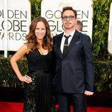 Robert Downey Jr. en los Globos de Oro 2015