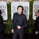 Adrien Brody en los Globos de Oro 2015