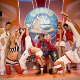 Bailarines 'Grand Prix'