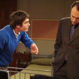 Yon González y Carlos Leal en la serie 'El Internado'