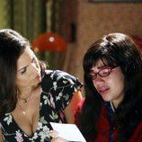 Ana Ortiz y America Ferrera en el capítulo