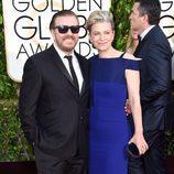 Ricky Gervais en los Globos de Oro 2015