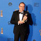 Kevin Spacey galardonado como mejor actor de serie dramática en los Globos de Oro 2015