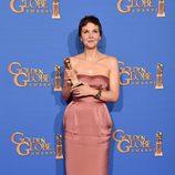 Maggie Gyllenhaal ganadora de la categoría mejor actriz de miniserie o TV movie en los Globos de Oro 2015