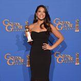 Gina Rodriguez galardonada como mejor actriz de serie comedia o musical en los Globos de Oro 2015