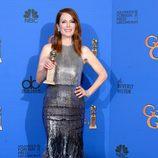 Julianne Moore, ganadora de la categoría mejor actriz de película dramática en los Globos de Oro 2015