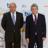 Jose Ignacio Wert y Enrique Cerezo Premios Forqué 2015