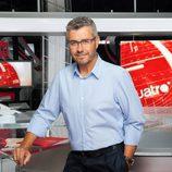 Miguel Ángel Oliver, presentador de Noticias Cuatro