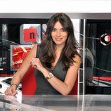 Marta Fernández, presentadora de Noticias Cuatro 1