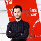 Luis García, presentador de Deportes Cuatro