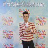 Jesús Reyes en la 'Sálvame Fashion Week'