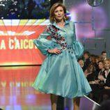 Gema López desfilando en la 'Sálvame Fashion Week'