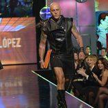 Kiko Matamoros, rompedor en la 'Sálvame Fashion Week'