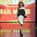 María Patiño desfilando en la 'Sálvame Fashion Week'
