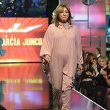 Mila Ximénez desfilando en la 'Sálvame Fashion Week'