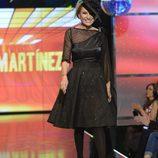 Rosa Benito desfilando en la 'Sálvame Fashion Week'