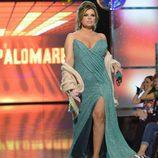 Terelu Campos desfilando en la 'Sálvame Fashion Week'