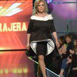 Lydia Lozano desfilando en la 'Sálvame Fashion Week'