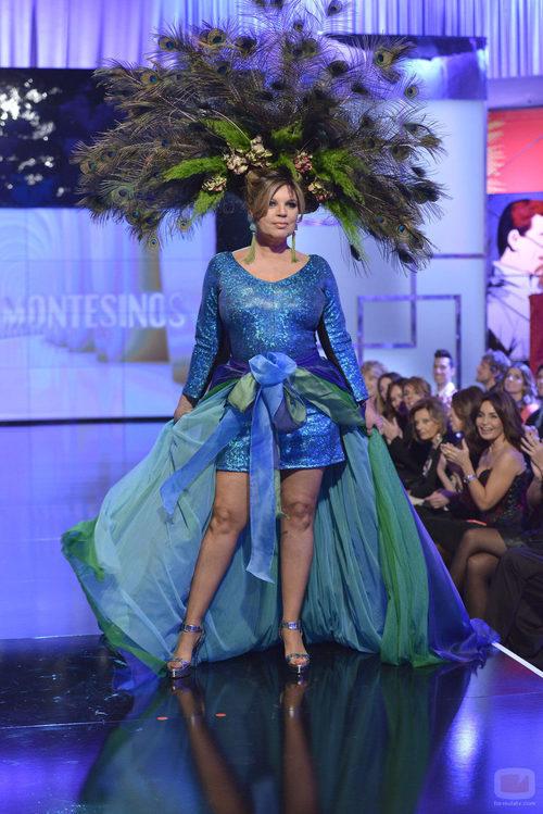 Terelu Campos, moda España en la 'Sálvame Fashion Week'