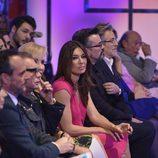 Raquel Revuelta, en la front row de la 'Sálvame Fashion Week'