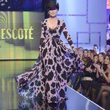 Rosa Benito, en el desfile español de la 'Sálvame Fashion Week'