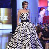 Gema López, de Petro Valverde en la 'Sálvame Fashion Week'