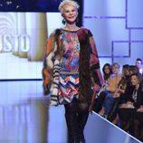 Karmele Marchante, de Custo Barcelona en la 'Sálvame Fashion Week'