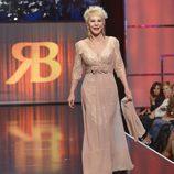 Karmele Marchante, de largo en la 'Sálvame Fashion Week'