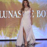 María Patiño, vestida de novia en la 'Sálvame Fashion Week'