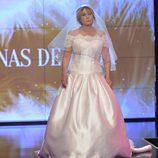 Mila Ximénez, vestida de novia en la 'Sálvame Fashion Week'