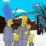La familia más famosa de Springfield en Auschwitz