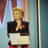 Mayra Gómez Kemp, una de las primeras presentadores