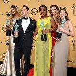 Los protagonistas de 'Orange Is The New Black', Mejor Reparto de Comedia en los SAG 2015