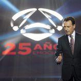 Matías Prats en la Gala 25 Aniversario de Antena 3