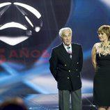 Carrascal y Maldonado en la Gala 25 Aniversario de Antena 3