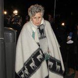 Pilar Bardem dándole el último adiós a Amparo Baró